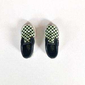 Checkered Vans